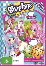 Shopkins: Chef Club on DVD image
