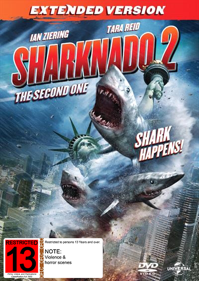 Sharknado 2: The Second One on DVD