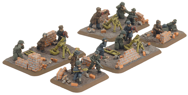 Flames of War - Volkssturm Mortar Platoon
