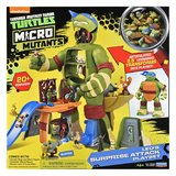 Teenage Mutant Ninja Turtles: Micro Mutant Playset - (Leos' Surprise Attack)