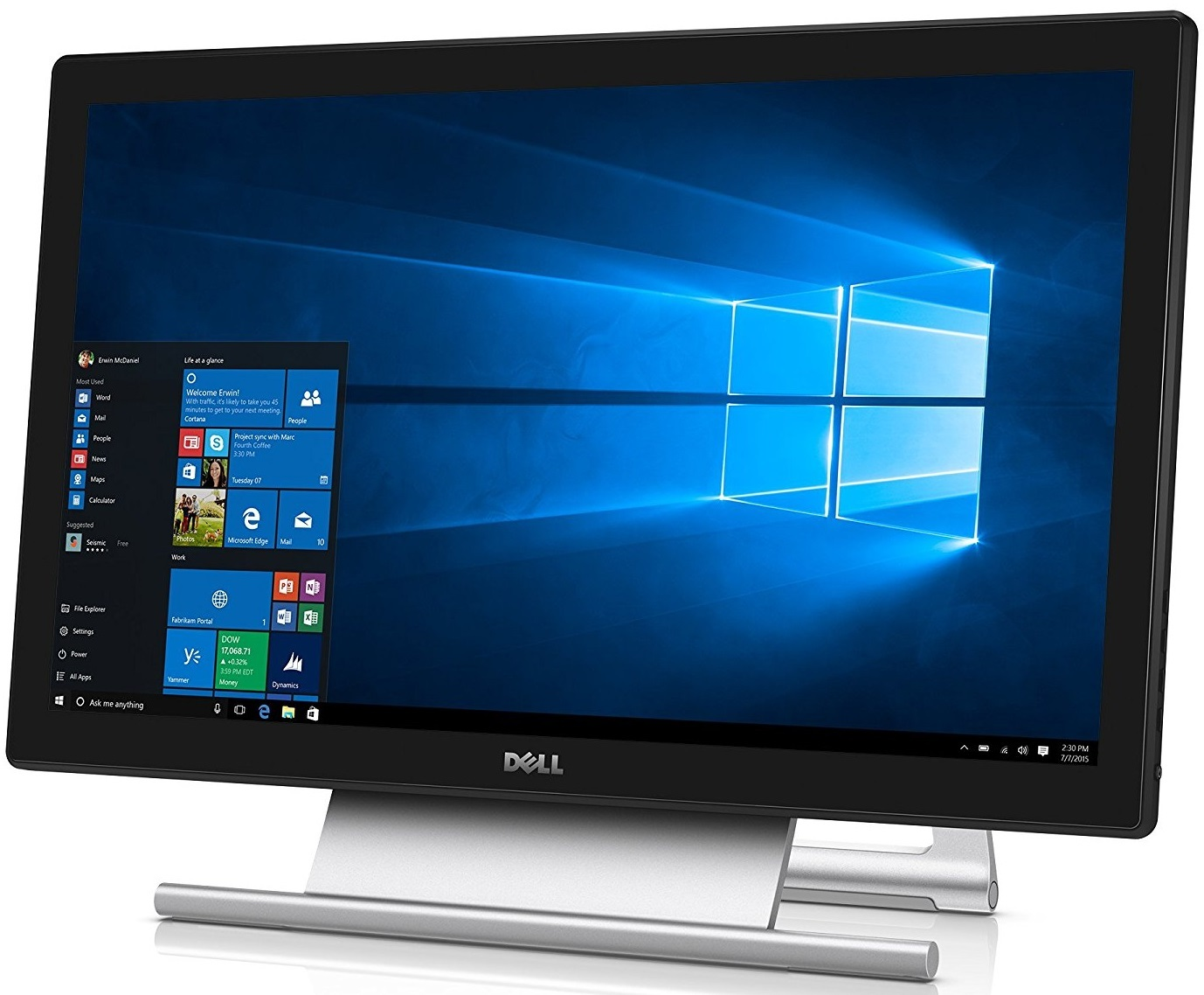 "21.5"" Dell S2240T FHD Touch Monitor image"