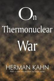 On Thermonuclear War by Herman Kahn