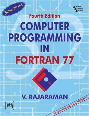 Computer Programming in Fortran 77 by V. Rajaraman image