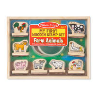 Melissa & Doug - My First Farm Animals Wooden Stamps