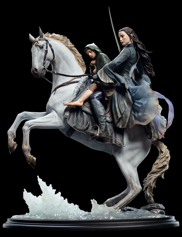 The Lord of the Rings: Arwen & Frodo On Asfaloth - 1/6 Scale Replica Figure