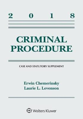 Criminal Procedure by Erwin Chemerinsky