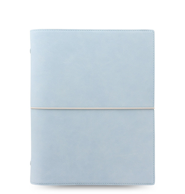 Filofax: Domino A5 Organiser - Pale Blue