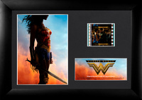 FilmCells: Mini-Cell Frame - Wonder Woman (Red, Gold & Blue)