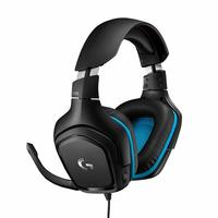 Logitech G432 7.1 Surround Sound Wired Gaming Headset for PC