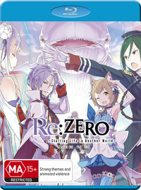Re:zero Starting Life In Another World Part 2 on Blu-ray