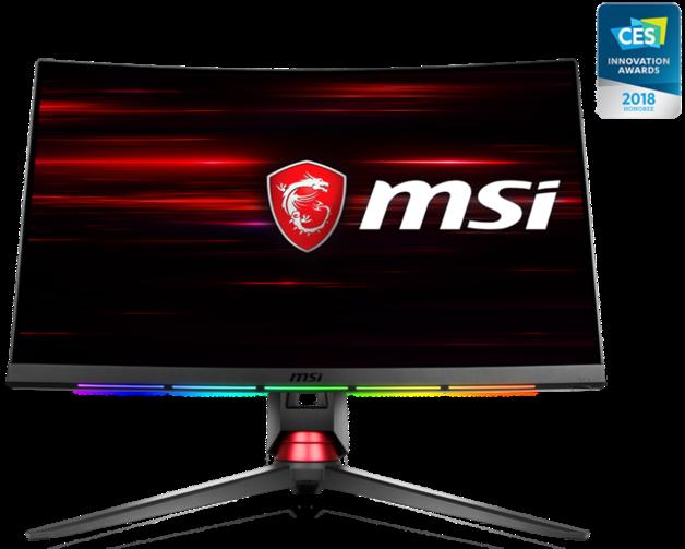 "27"" MSI 144Hz 1ms WQHD Curved Gaming Monitor"