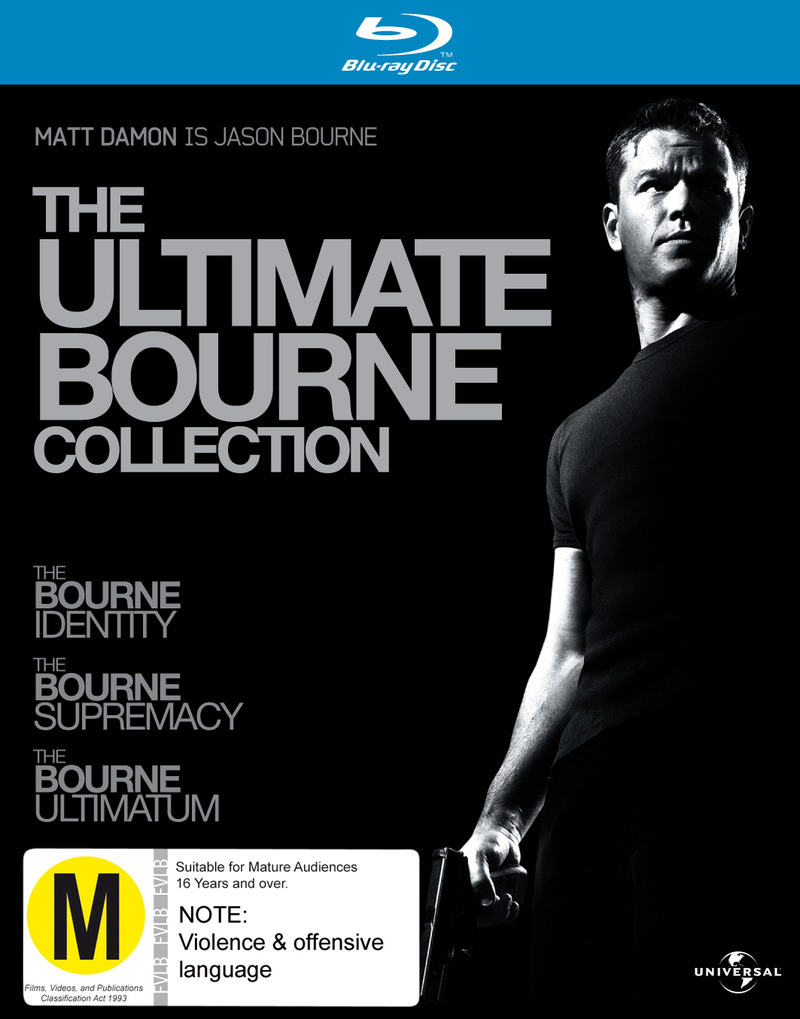 The Ultimate Bourne Collection (Bourne Identity 2002 / Bourne Supremacy / Bourne Ultimatum) (3 Disc Box Set) on Blu-ray image