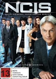 NCIS - The Ninth Season on DVD