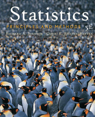 Statistics: Principles and Methods by Richard A Johnson