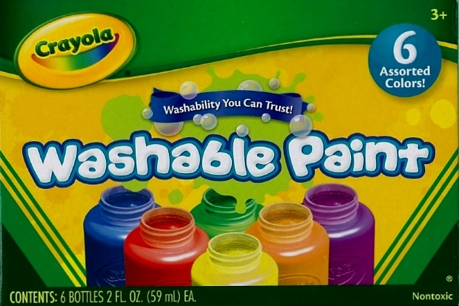 Crayola: Washable Paint Pack - 6 Colours image