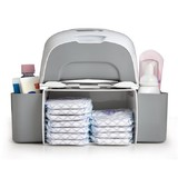 Prince Lionheart 2-in-1 Diaper Depot - Grey