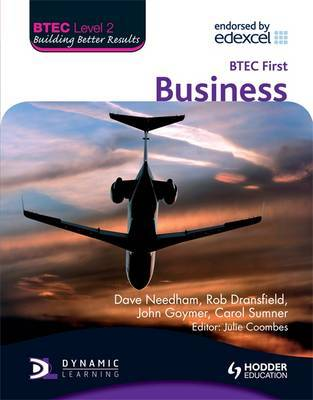 BTEC Level 2 First Business by Dave Needham image