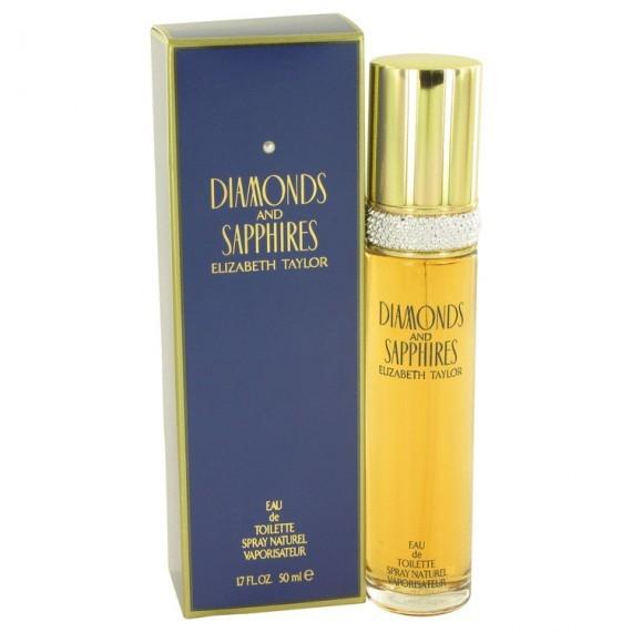 Elizabeth Taylor - Diamonds & Sapphires Perfume (50ml EDT)