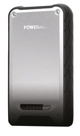PowerAll Element iP65 12000mAh Power Bank and 12Volt, 400Amp Jump Starter (Silver)