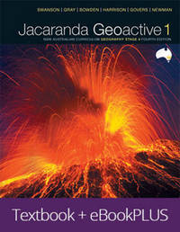 Jacaranda Geoactive 1 NSW Australian Curriculum Geography Stage 4 Fourth Edition eBookPLUS & Print by Louise Swanson
