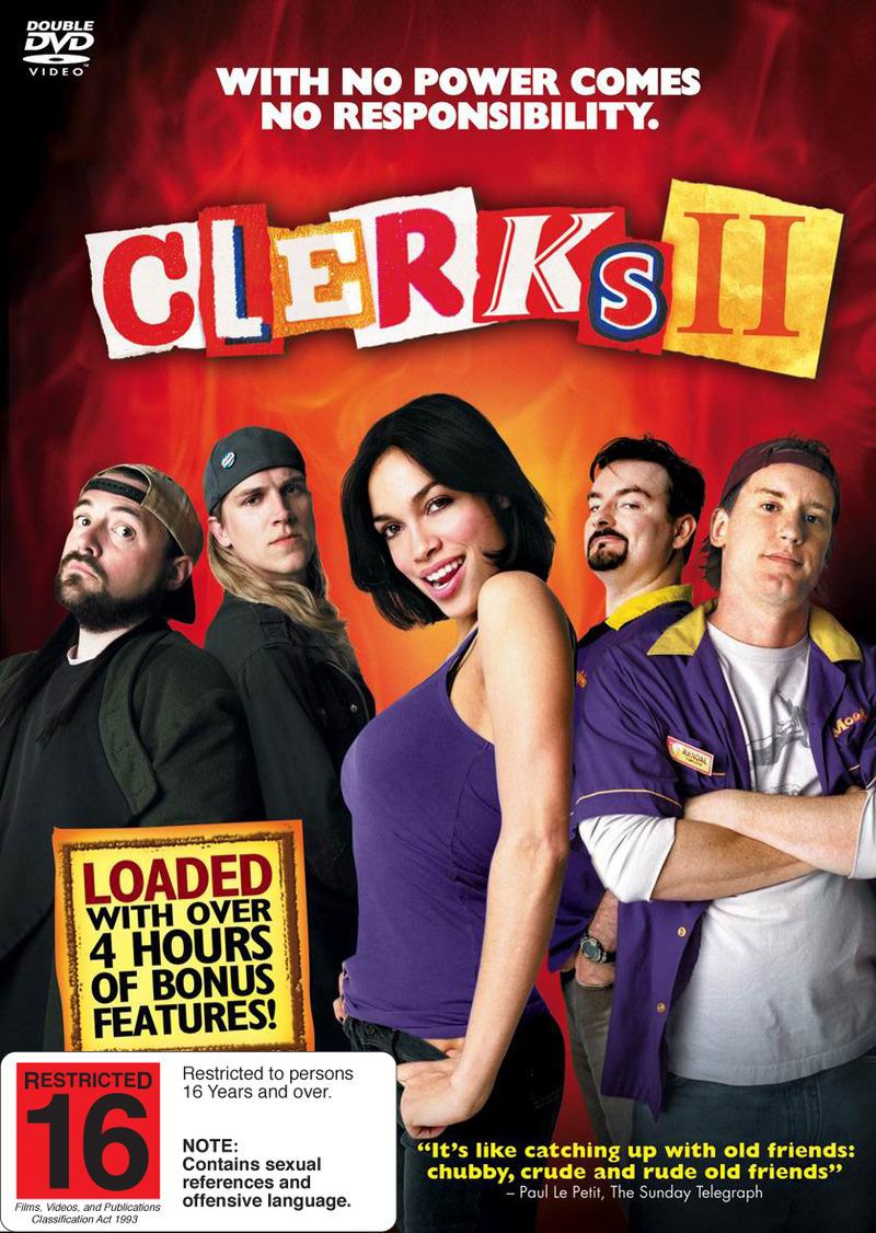 Clerks II (2 Disc Set) on DVD image