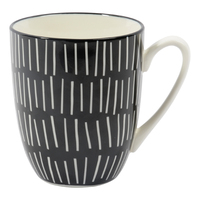 Etta Black and White Birch Mug (8.5 x 11cm)