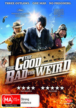 The Good, The Bad, The Weird DVD image