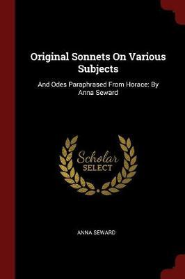 Original Sonnets on Various Subjects by Anna Seward image