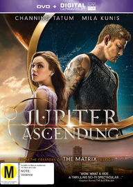 Jupiter Ascending on DVD