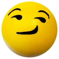 I Love Squishy: Smirk Emoji - Assorted Colours