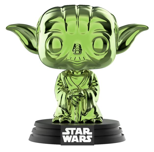 Star Wars: Yoda (Green Chrome) - Pop! Vinyl Figure