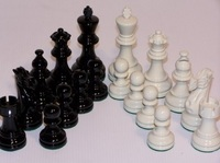 Dal Rossi: American Staunton - Chess Pieces