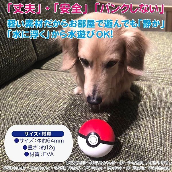 Pokemon Pet Toy - Poke Ball image