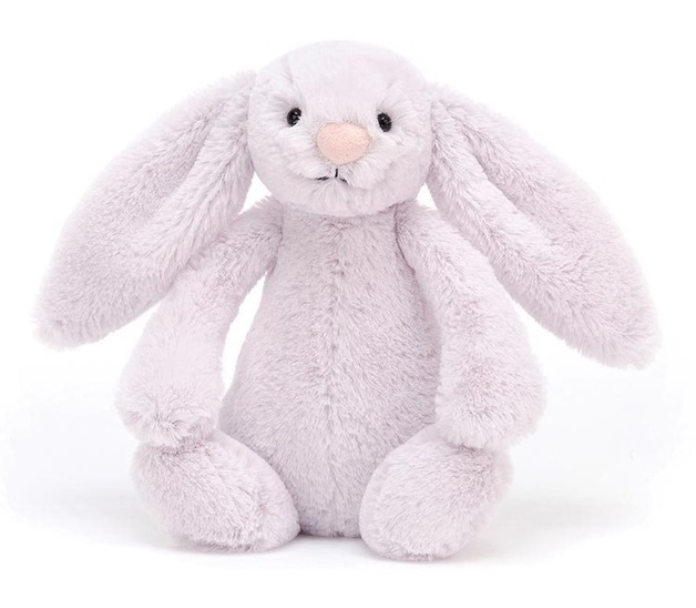 Jellycat: Bashful Lavender Bunny - Small Plush
