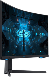 "32"" Samsung Odyssey G7 1440p 240Hz 1ms A-Sync HDR Curved Gaming Monitor"