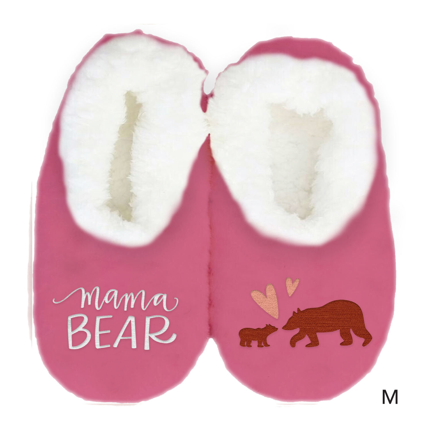 Mother's Day Duo Slippers - Bear (Medium) image