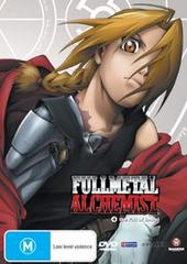 Fullmetal Alchemist Vol 04 on DVD