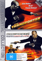 Transporter / Transporter 2 - The Essential Collection (2 Disc Set) on DVD