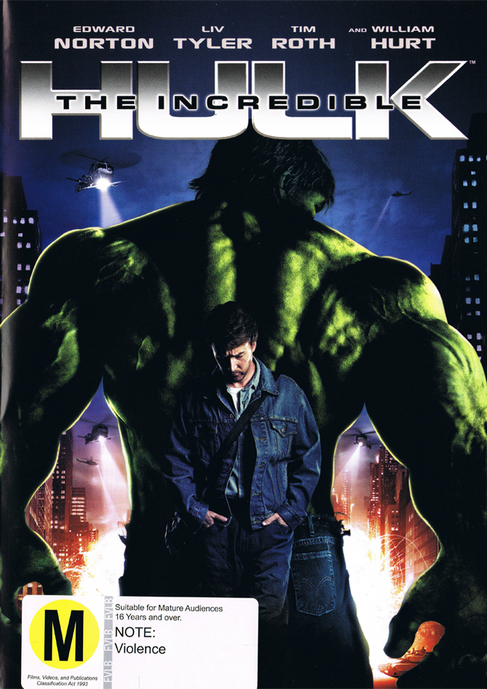 The Incredible Hulk (2008) on DVD image