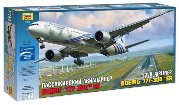 Zvezda: 1/144 Boeing 777-300 ER - Model Kit