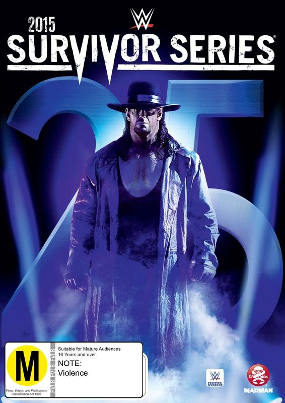 WWE - Survivor Series 2015 on DVD
