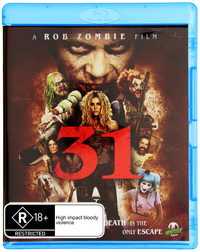 31 (A Rob Zombie Film) on Blu-ray