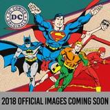 DC Comics 2018 Square Wall Calendar