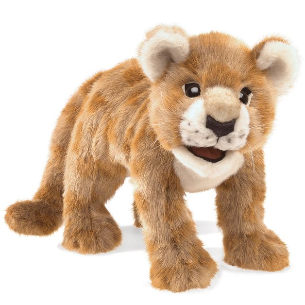 Folkmanis Hand Puppet - African Lion Cub