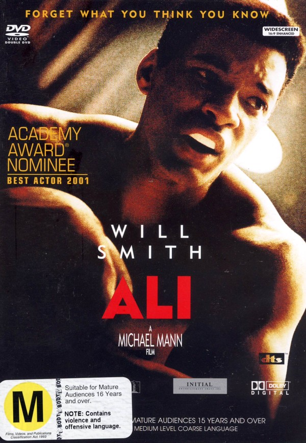 Ali on DVD image