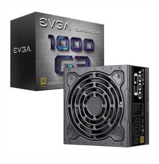 1000W EVGA SuperNOVA 1000 G3 80+ Gold Full Modular PSU