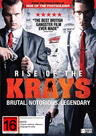Rise of the Krays on DVD