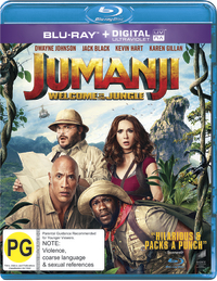 Jumanji: Welcome to the Jungle (3D) on 3D Blu-ray