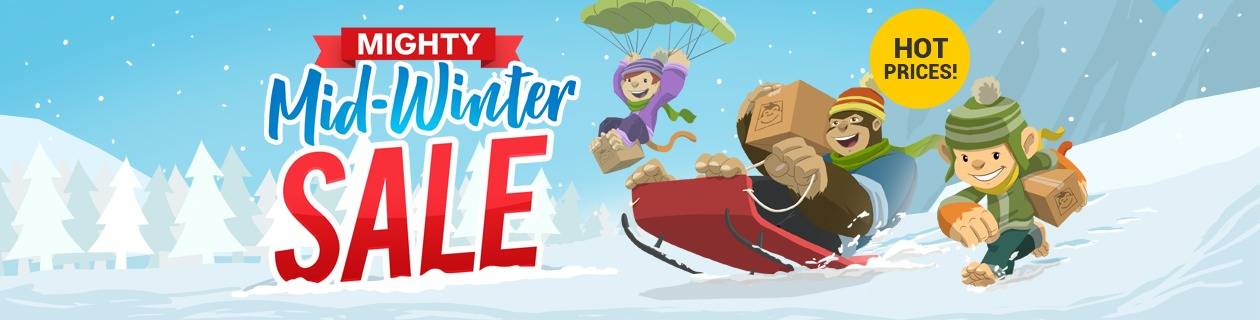 Mighty Mid-Winter Sale