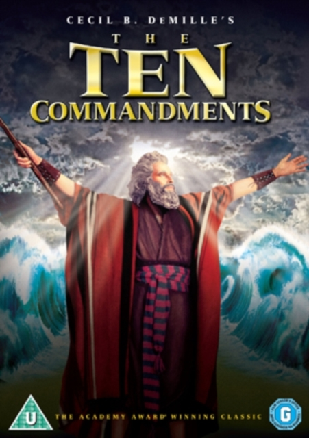 The Ten Commandments on DVD